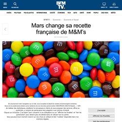 Mars change sa recette française de M&M's