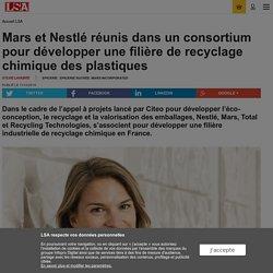 Mars et Nestlé réunis pour développer une...