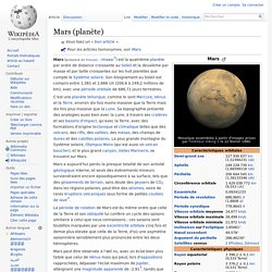 Mars (planète)