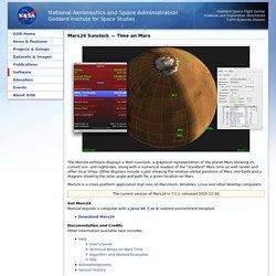 Mars24 Sunclock