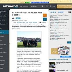 La Marseillaise sans fausse note à Bastia