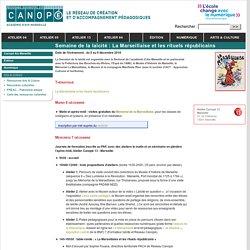 Semaine de la laïcité : La Marseillaise et les rituels républicains - Canopé - académie d'Aix-Marseille