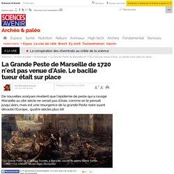 La Grande Peste de Marseille de 1720 n'est pas venue d'Asie. Le bacille tueur était sur place - 31 janvier 2016