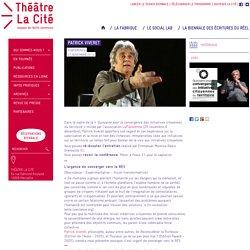 Patrick Viveret - Théâtre La Cité - Marseille - Biennale des écritures du réel