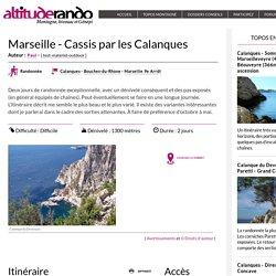 Marseille - Cassis par les Calanques
