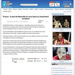 France : le port de Marseille en recul dans le classement européen