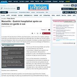 Marseille : le sénateur PS Jean-Noël Guérini et son frère en garde à vue