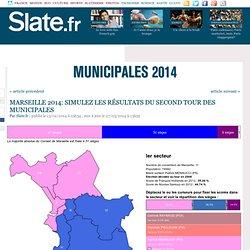 Marseille 2014: simulez les résultats des municipales dans les huit secteurs