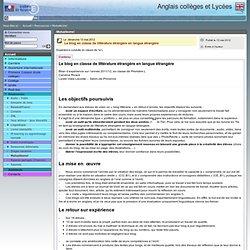 Anglais collèges et Lycées