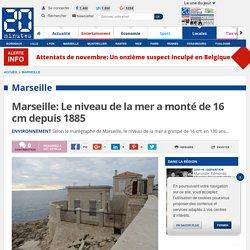 Marseille: Le niveau de la mer a monté de 16 cm depuis 1885