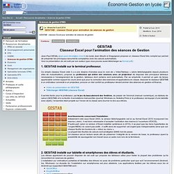 Sciences de gestion STMG
