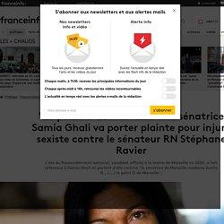 """""""Le point G de Marseille"""" : la sénatrice Samia Ghali va porter plainte pour injure sexiste contre le sénateur RN Stéphane Ravier"""
