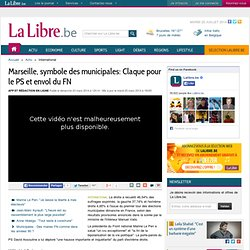 Marseille, symbole des municipales: Claque pour le PS et envol du FN