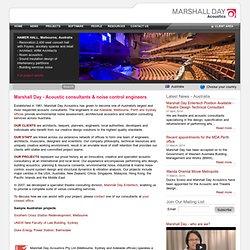 Marshall Day Acoustics - Australia