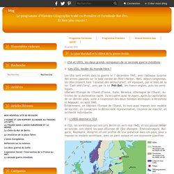 Le plan Marshall et le début de la guerre froide. - Le blog de bacpro13.over-blog.com