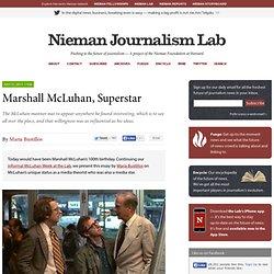 Marshall McLuhan, Superstar