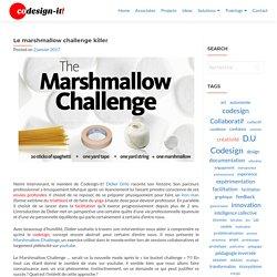 Le marshmallow challenge killer – Codesign-it!