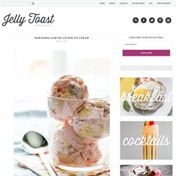 marshmallow no-churn ice cream - Jelly Toast