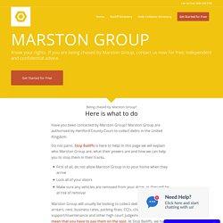 Marston Group - Stop Bailiffs