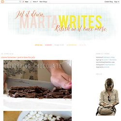 marta writes: s'more brownies / just in time for july