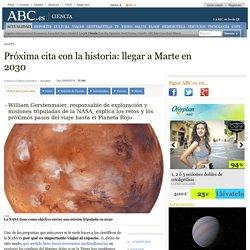 Marte - Próxima cita con la historia: llegar a Marte en 2030