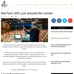 MarTech 2017, just around the corner! - Ade Camilleri