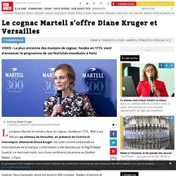 Le cognac Martell s'offre Diane Kruger et Versailles
