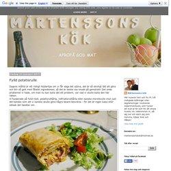 MÅRTENSSONS KÖK: Fylld potatisrulle