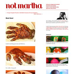 not martha - Meat Hand