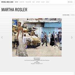 Martha Rosler - Galerie Mitchell-Innes & Nash
