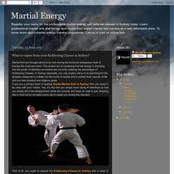 Martial Energy: What to expect from your Kickboxing Classes in Sydney?