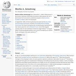 Martin A. Armstrong