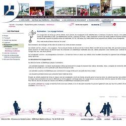 Ville de Saint-Martin-le-Vinoux . Animation : Le voyage lecture