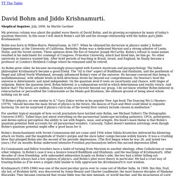 TT: martin gardner on david bohm and krishnamurti