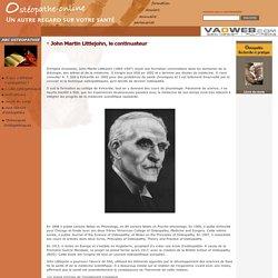 John Martin Littlejohn, ostéopathe