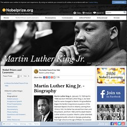 Martin Luther King Jr. - Biography