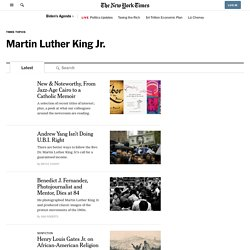Martin Luther King Jr. News