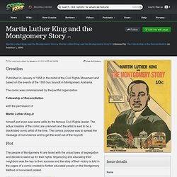 Martin Luther King and the Montgomery Story #1 (Issue)