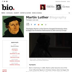 Martin Luther - Theologian
