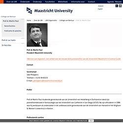 Prof. dr. Martin Paul