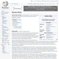 Martin Malia