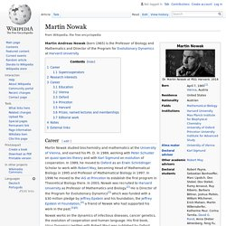 Martin Nowak