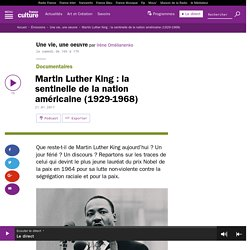 Martin Luther King : la sentinelle de la nation américaine (1929-1968)