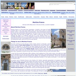 Martina Franca Tourist Information
