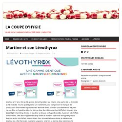 Martine et son Lévothyrox