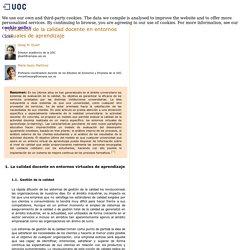 Josep M. Duart. María Jesús Martínez - Evaluación de la calidad docente ...
