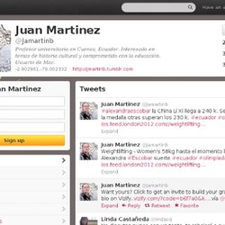 Juan Martinez (Jamartinb) on Twitter
