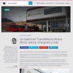 Conozca el Teatro Publio Martínez Ardila de TransMilenio