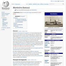 Martinière (bateau)