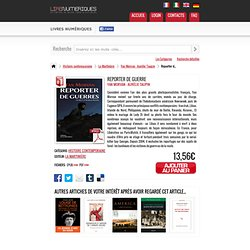 Livre numérique Reporter de guerre de Yan Morvan - Aurélie Taupin édité par Editions de La Martinière sur LireNumeriques.com